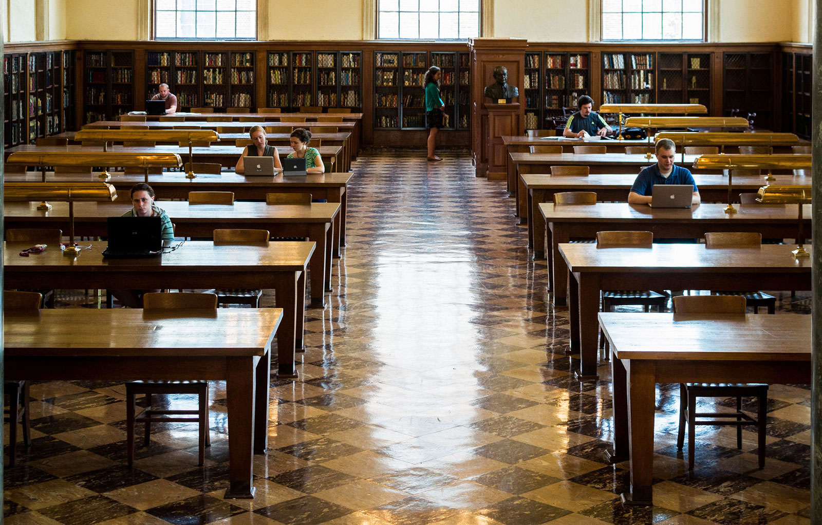 Wilson Library - Grand Reading Room