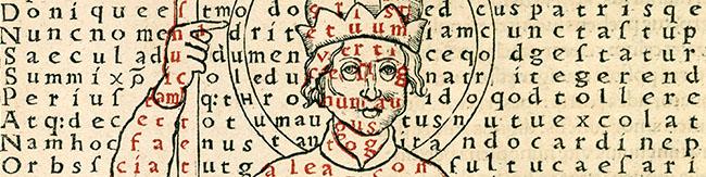 Rabanus Maurus. De laudibus Sanctae Crucis opus… (1503)