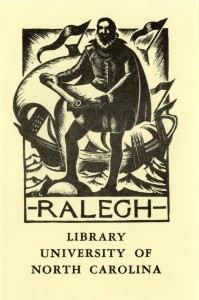 Raleigh Collection book plate