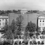 Back of Wilson after 1952 addition