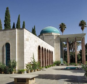 Tomb of Sa'di Shiraz, Iran 1210-1291