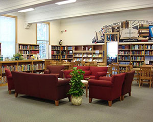 SILS Library reading room