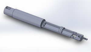 CAD prototype of rat holder