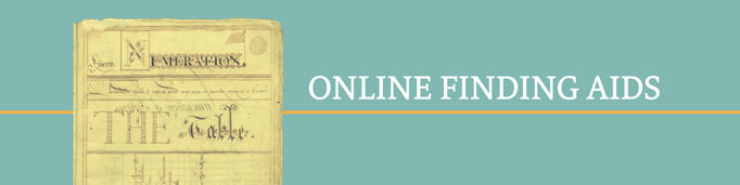 online finding aids