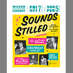 Poster for sounds stilled exhibit