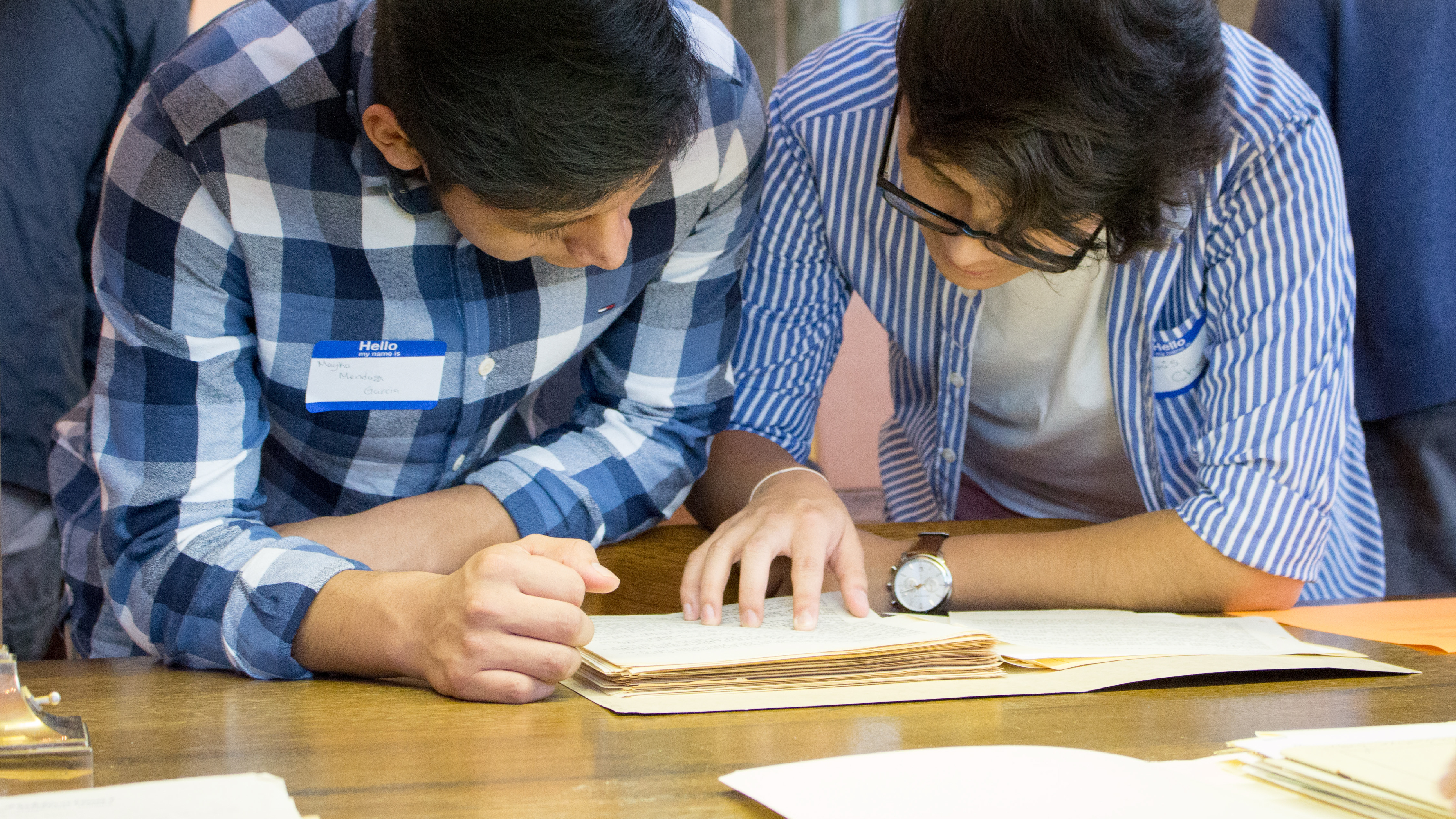 Southern Historical Collection Helps High Schoolers Explore Maya Heritage