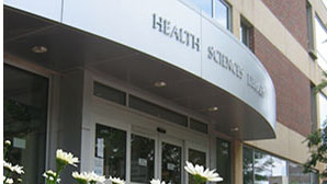 facade of UNC Health Sciences Library