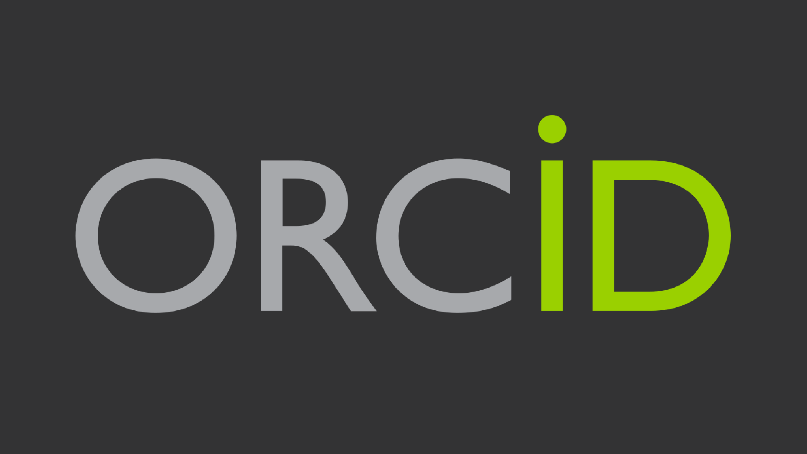 ORCID, Open Access, and You!