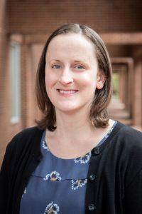 Photograph of Anna Goslen, Metadata Librarian