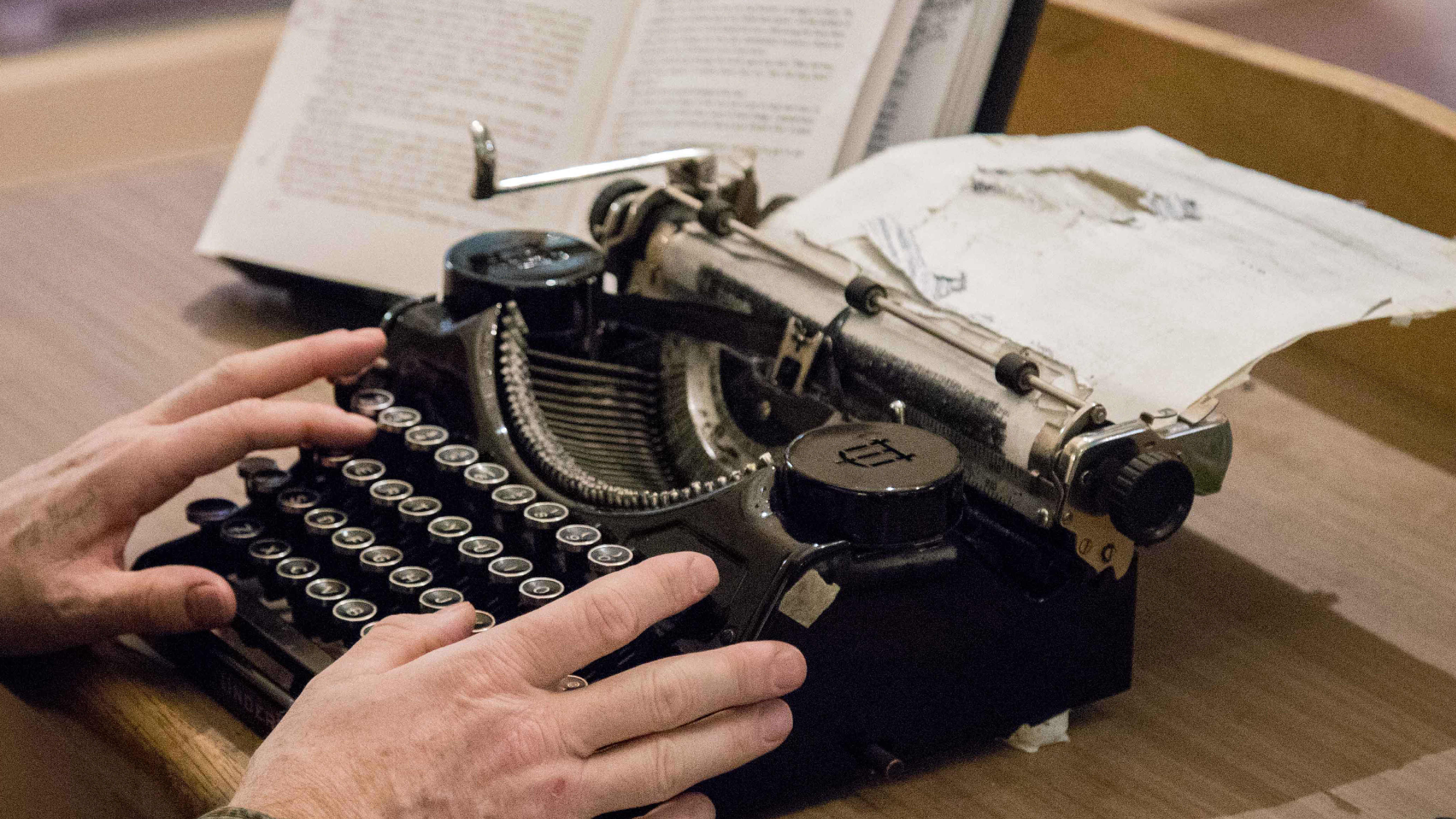 Retyping a Classic at Wilson Library