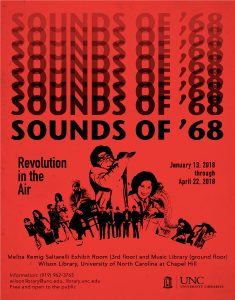 Sounds of 58 exhibition flier