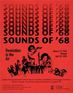 Sounds of 58 exhibition flier