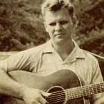 Album cover detail Doc Watson with guitar