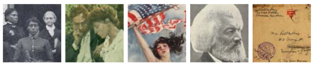 Banner of 5 thumbnail images from Doc South digital collections