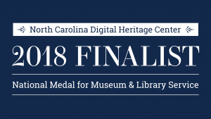 Digital Heritage Center is 2018 Finalist for National Medal for Museum and Library Service