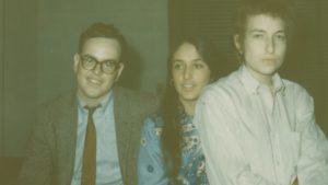 Bebo White, Joan Baez, Bob Dylan in 1965