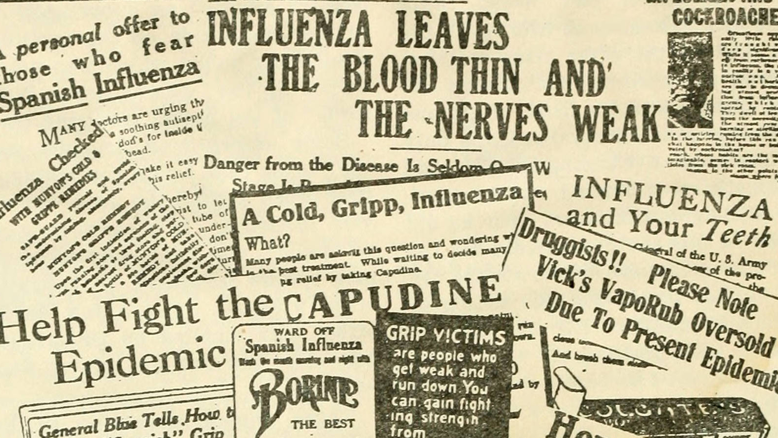 """Going Viral"" Online Exhibit Examines 1918 Flu Pandemic"