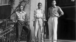 Leroy Frasier, John Lewis Brandon, and Ralph Frasier in 1955