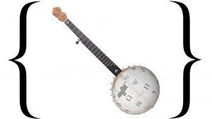 Wikipedia banjo logo