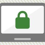 https lock icon on laptop screen