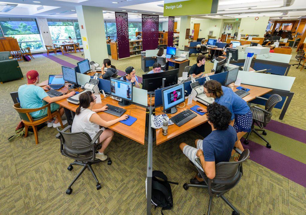 Undergraduate Library Design Lab