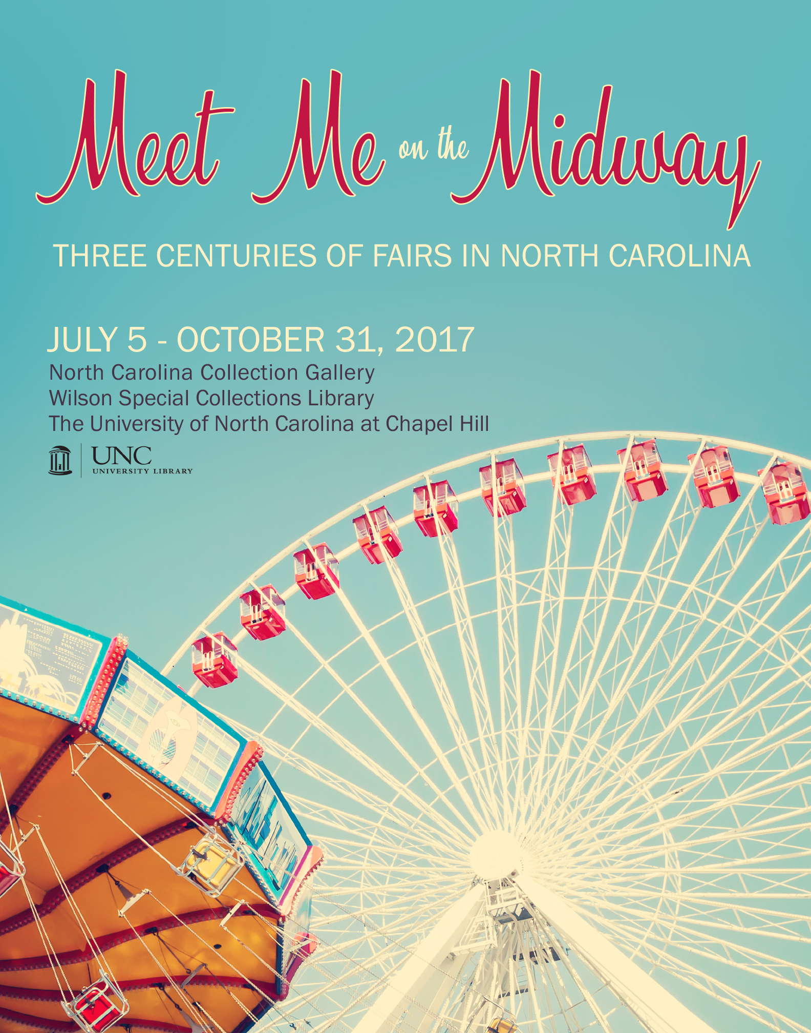 Poster advertising Meet Me on the Midway exhibit