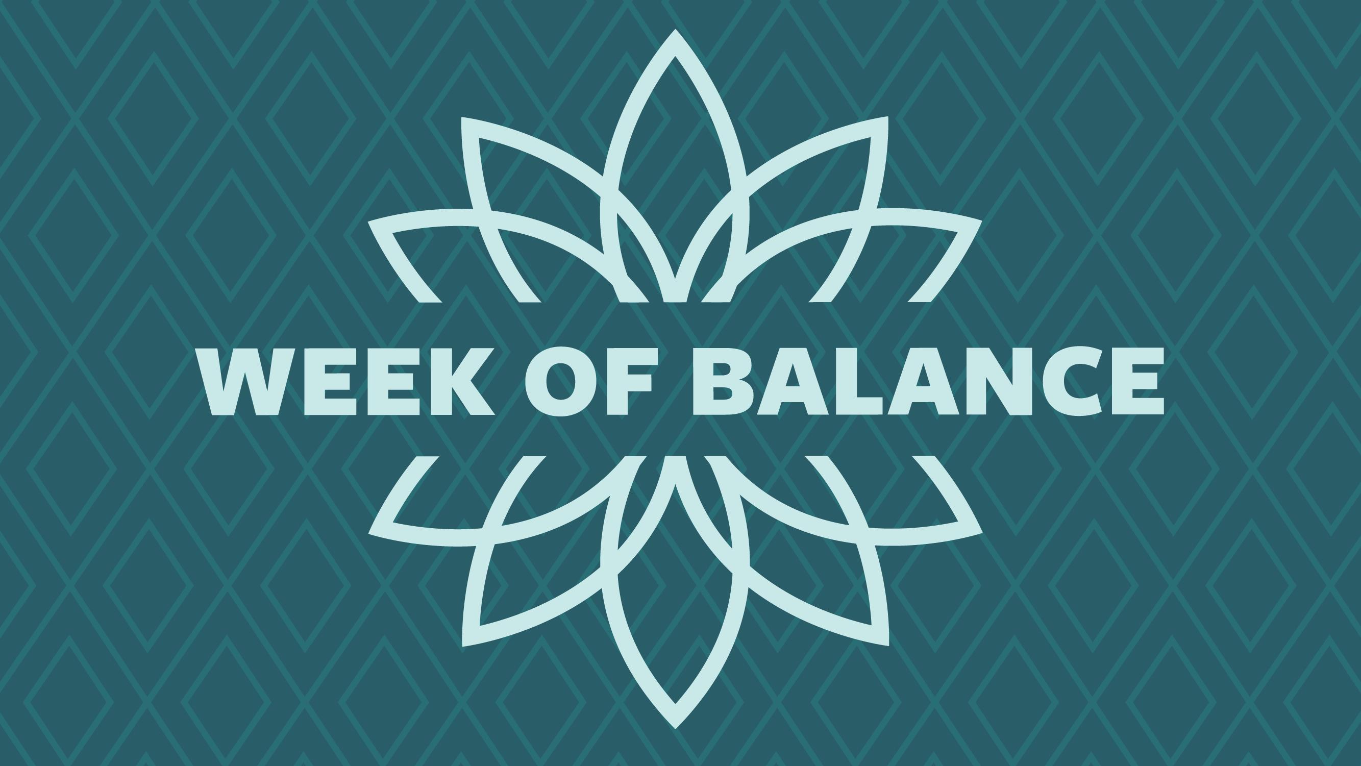 Week of Balance logo