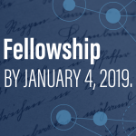 CLIR Fellowship apply by January 4, 2019