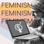 Art+Feminism Edit-A-Thon flyer detail