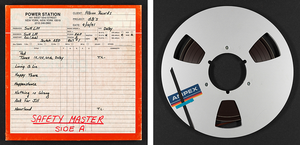db's master tape