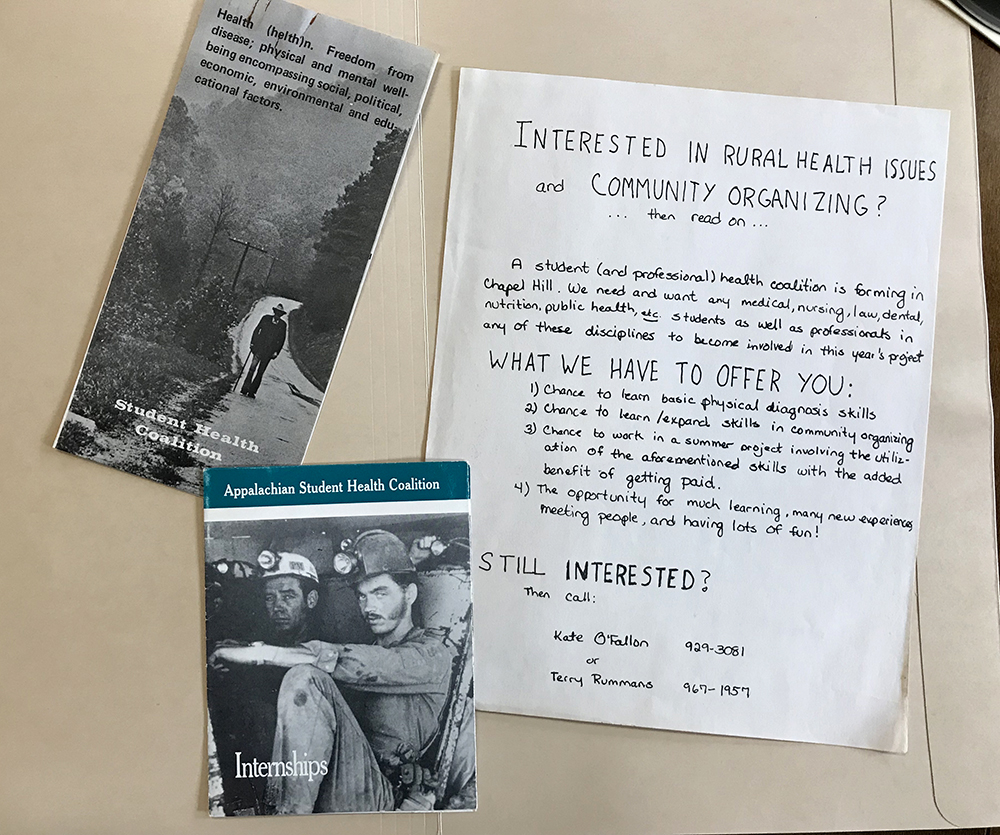 Student Health Coalition archival materials