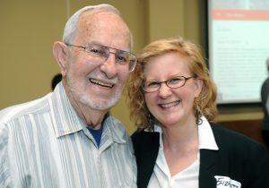 Lee Calhoun and Elizabeth Englehardt