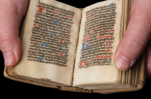 Spread from Breviary for Celestine Use