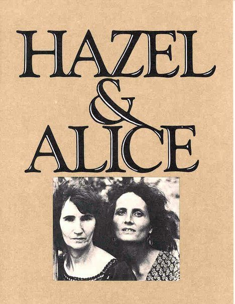 Hazel & Alice promotional brochure from the early 1970s