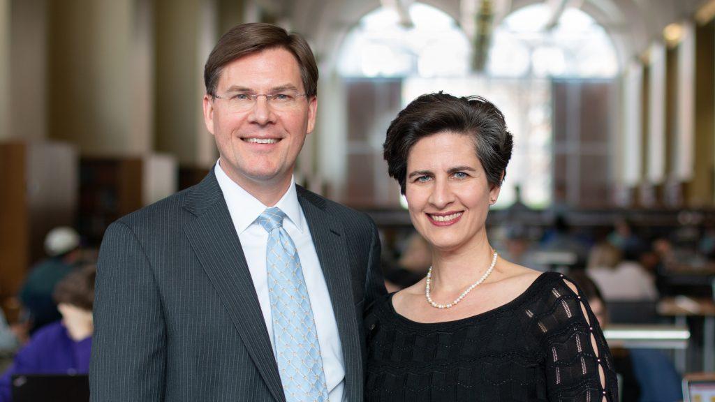 Vance L. Horner and Shaida Jarrahi Horner