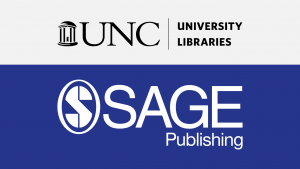 University Libraries logo and Sage Publishing logo