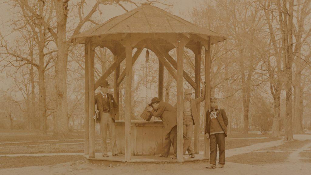 The Well, circa 1892, from the Kemp Plummer Battle Photograph Album
