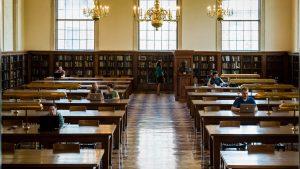 Fearrington reading room