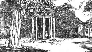 old well illustration
