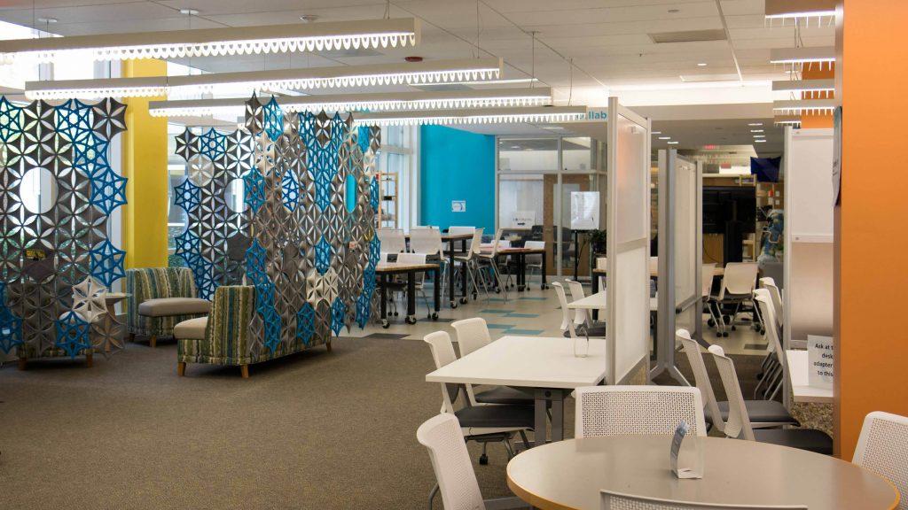 Kenan science library interior