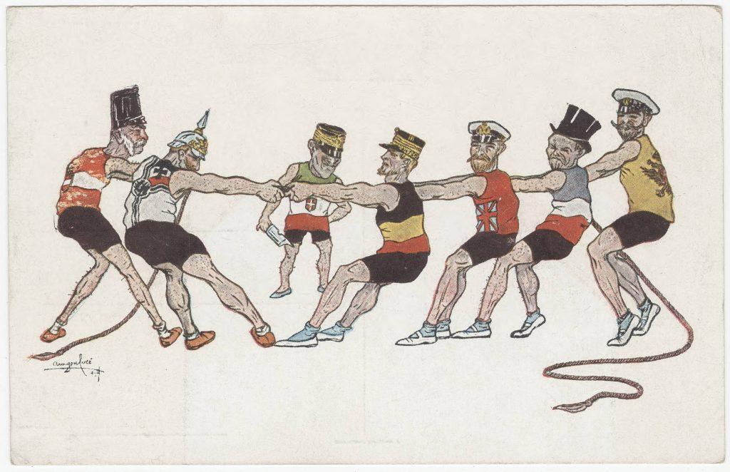 Italian war comic