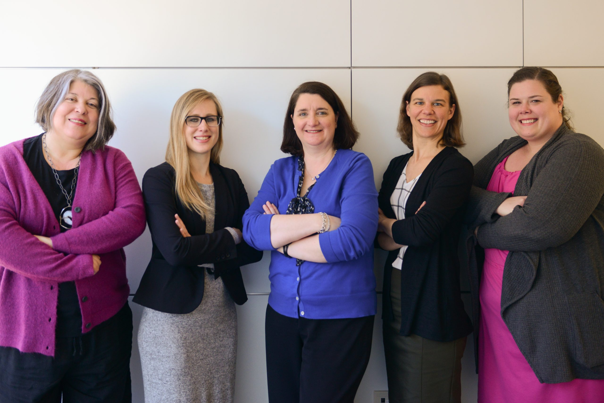 portrait of rebecca carlson and colleagues
