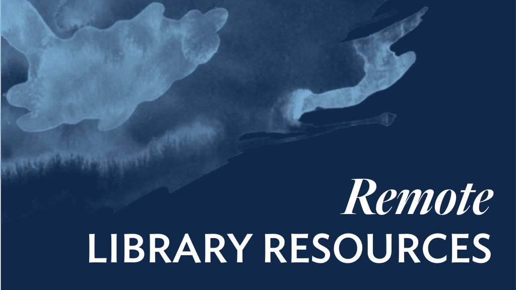 Library Remote Resources