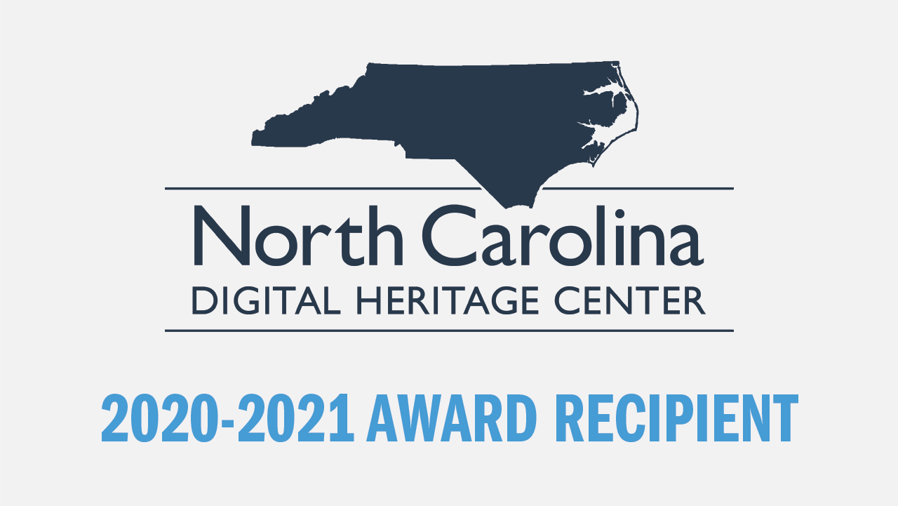 Half-Million Dollar Grant Will Extend Operations of North Carolina Digital Heritage Center