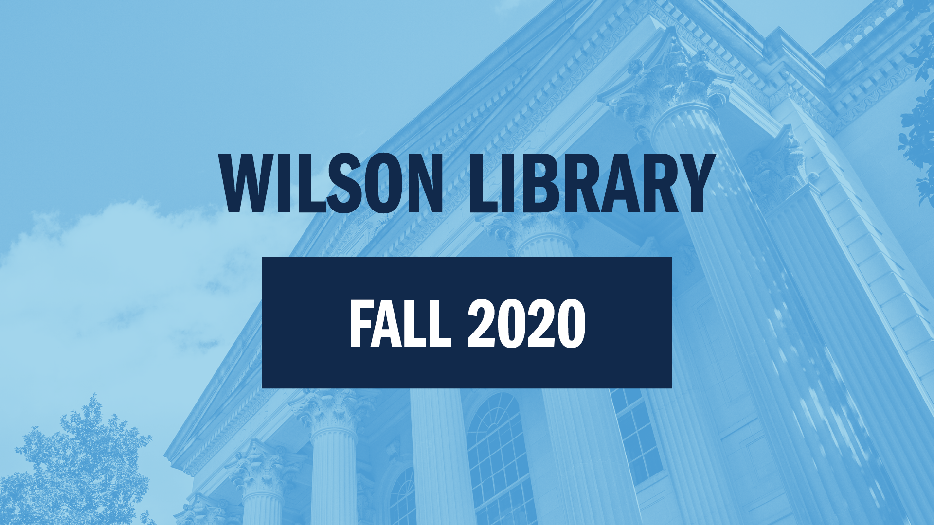 Access Special Collections in Fall 2020