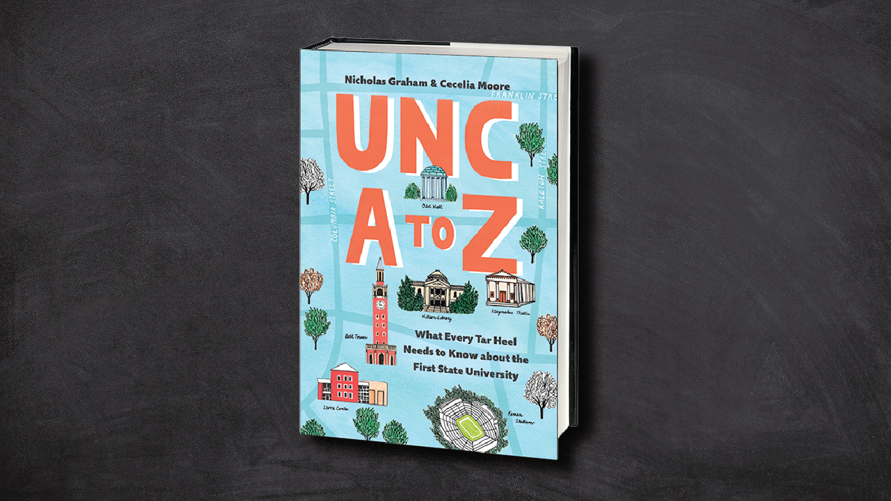 "5 Questions with the Authors of ""UNC A to Z"""