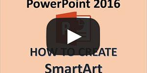 PowerPoint 2016 - Create Diagrams