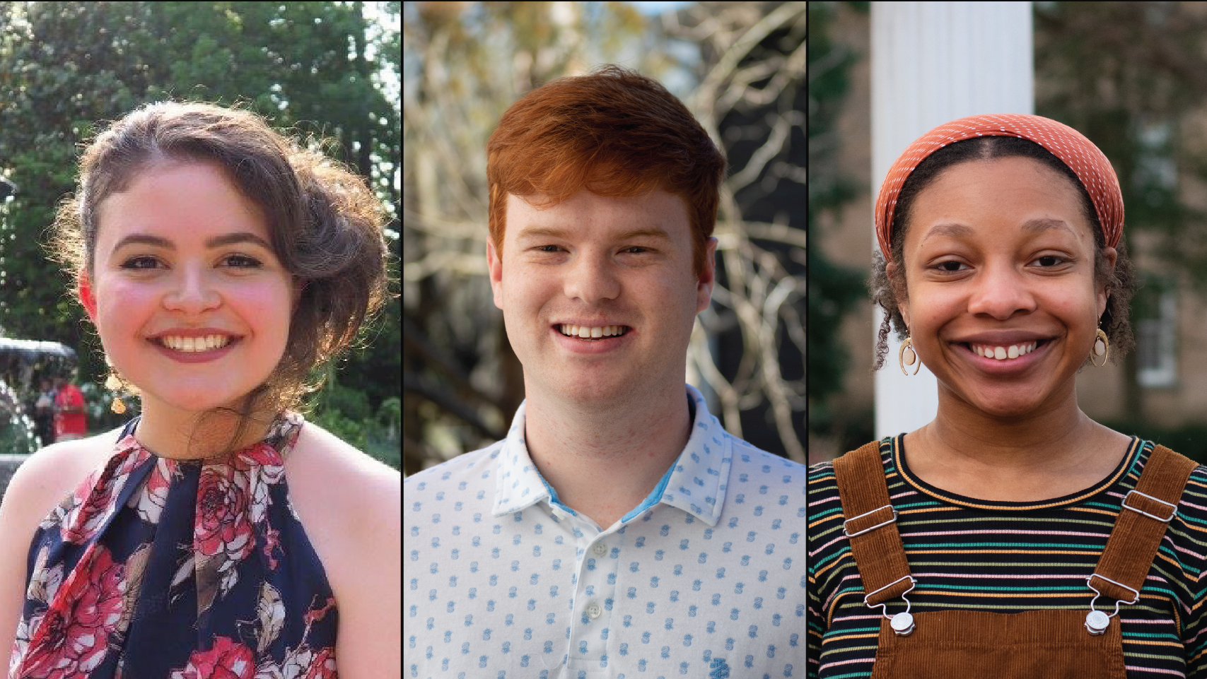 Three Student Employees Win Appreciation Awards