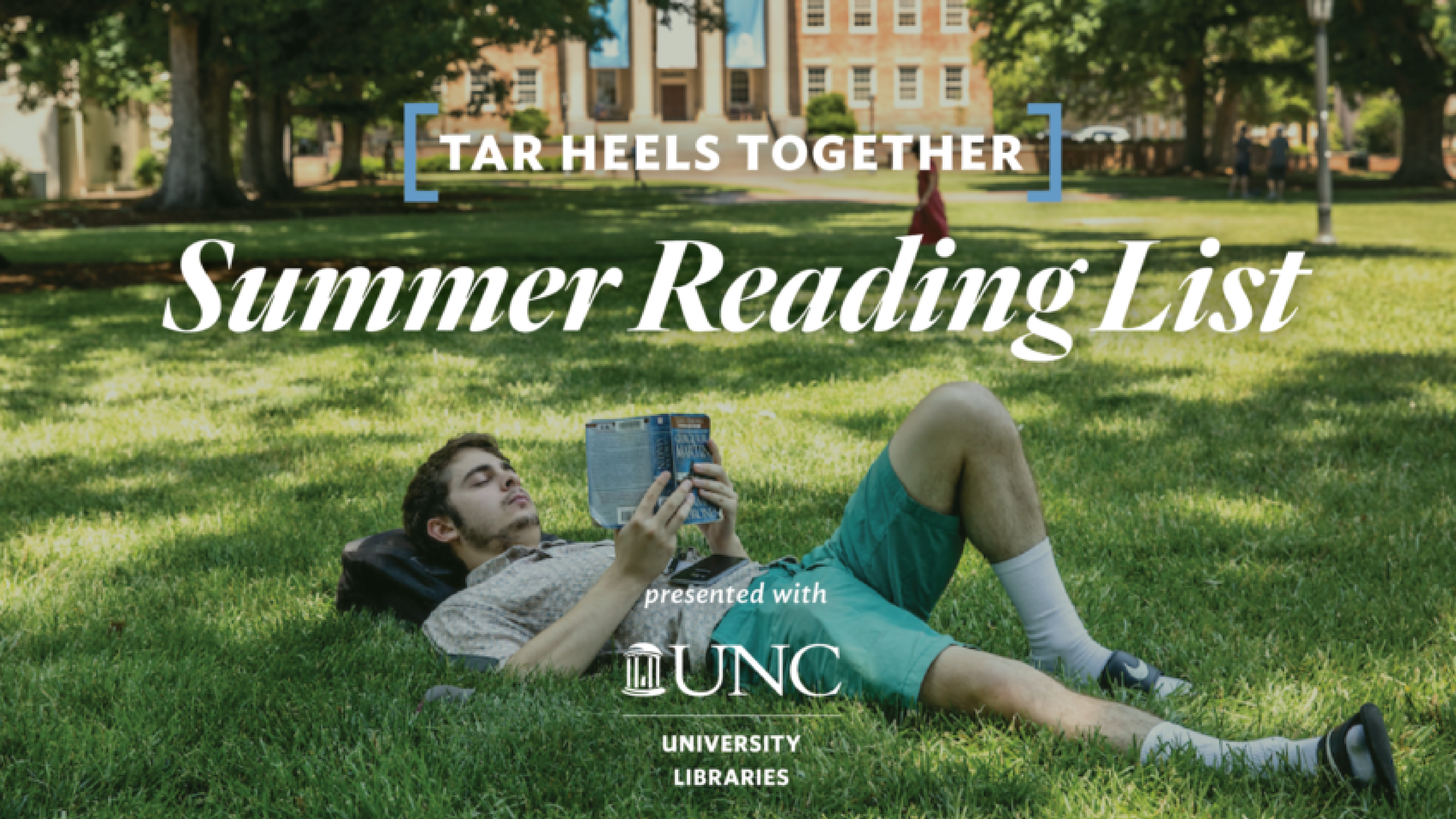 Library staff recommend Carolina alumni-authored books for weekly Tar Heels Together Summer Reading List