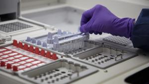 lab testing vaccine